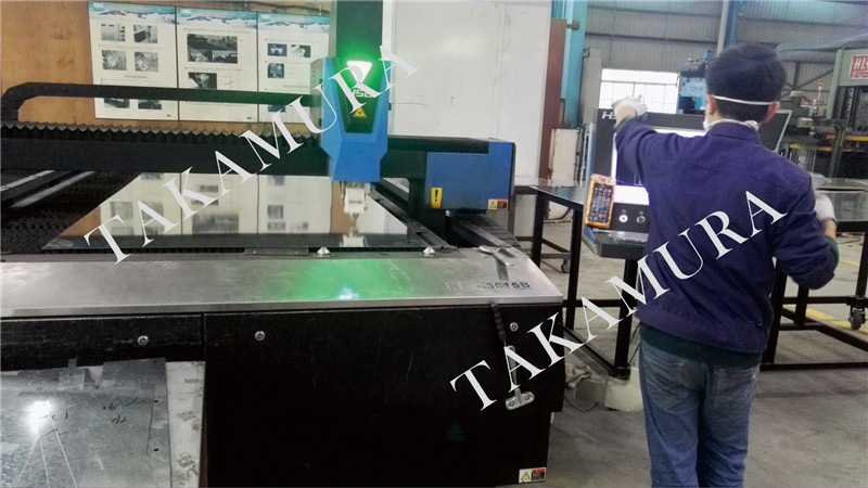 Open laser machine